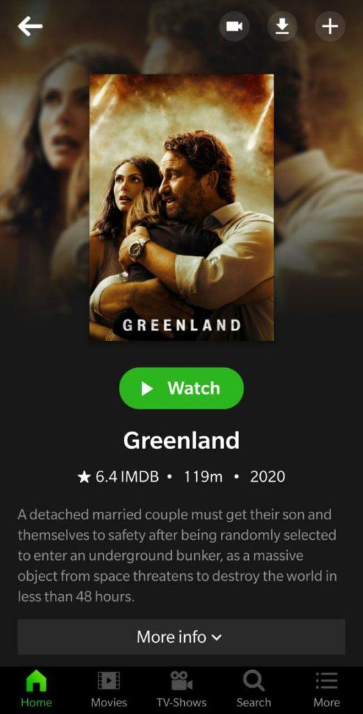 choose movie cinehub