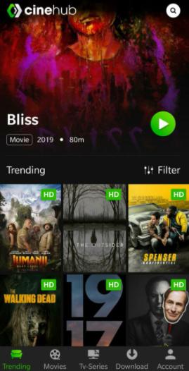 CineHub App Movies & TV Shows