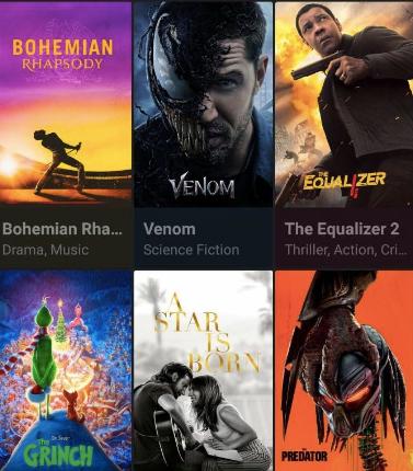CineHub App Movies & TV Shows on Roku